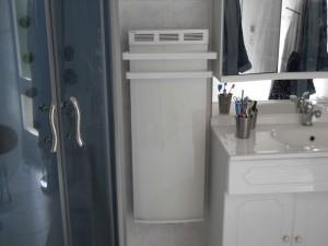 vulcanos sèche serviette salle de bain