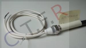 photo cartouche chauffante pour séche serviette conectique capot surmoulé et fil électrique fournie par CTFR