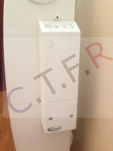 Récepteur RADIALUX dépanné par CTFR