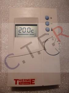 THERMOSTAT SANS FIL pour thermie diffusion dépanné par CTFR