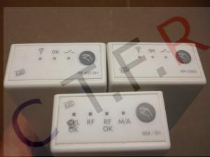 Récepteur sans fil radio fréquence 433mhz et 868mhz pour thermostat sans fil dépannés par CTFR